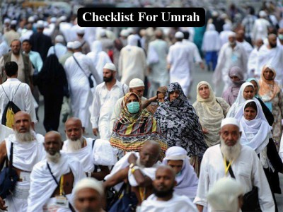 Checklist for Umrah